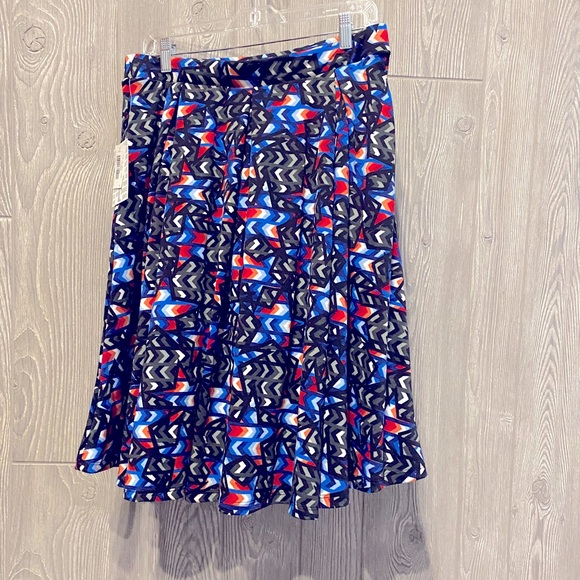 Brand New LuLaRoe skirt. Medium length size Large
